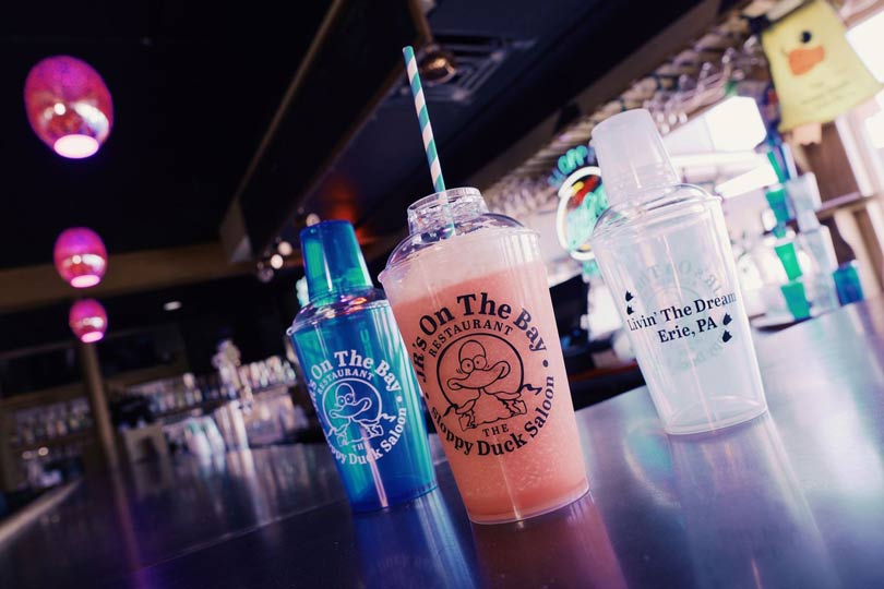 Sloppy Duck Cocktail Shakers